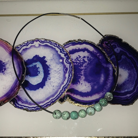 Jewelry - Real turquoise necklace